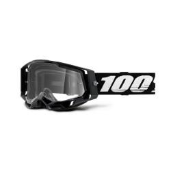 GAFAS 100% RACECRAFT 2 NEGRO/TRANSPARENTE