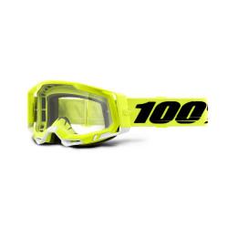 GAFAS 100% RACECRAFT 2 AMARILLO/TRANSPARENTE