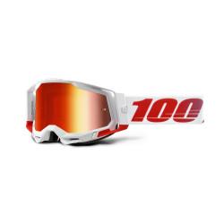 GAFAS 100% RACECRAFT 2 ST-KITH/ROJO ESPEJO